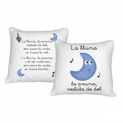 "Cojín ""La Lluna la Pruna"""